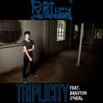 "Pat Valley + The Population ""Triplicity"" single artwork"