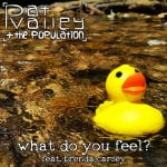 "Pat Valley + The Population ""What Do You Feel?"" single artwork"
